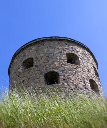 gothenburg: Photograph of a medieval tower in Sweden, Bohus Fastning