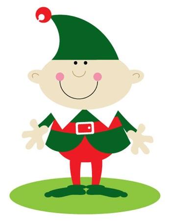 산타의 작은 도우미 소년 엘프