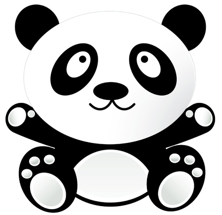 Baby Panda Stock Illustratie