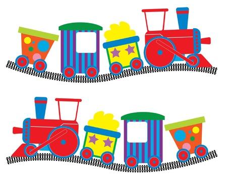 Train and Rail Cars 版權商用圖片 - 19142034