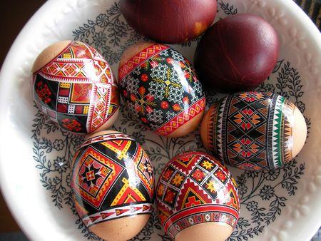 pasch: Variante moderna di Pasqua EAG dipinta su una lastra