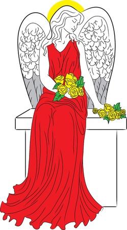 nimbus: Angel with nimbus