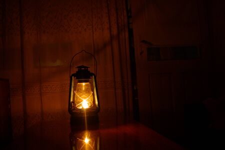 naphtha: The old lamp shines into the dark