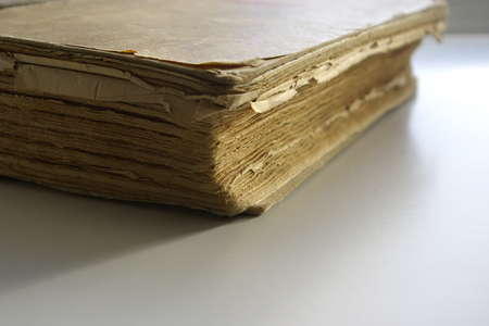 edge: Old book edge