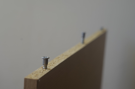 furniture: Furniture detail and screw