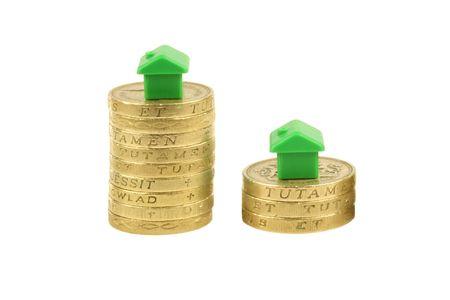 Housing Market Crash Stock Photo - 3585066