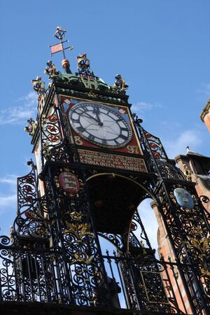 chester: Eastgate Clock Chester Cheshire