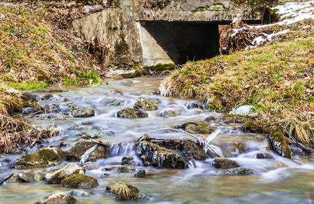 Fresh water near park Banco de Imagens