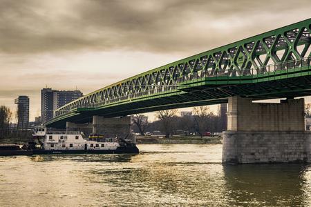 Old bridge in Bratislava