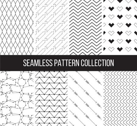 Geométricas texturas en blanco y negro se pueden utilizar para la impresión, papel pintado, fondo de páginas web, diseño de la superficie, textil, moda, tarjetas.