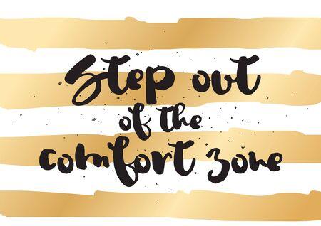 Al Salir De La Zona De Confort Cita Inspirada Motivación
