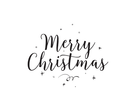 happy new years: Merry Christmas text design.