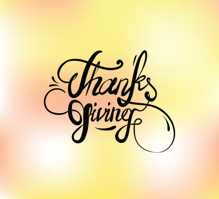 caes: Thanksgiving day typographic background. Text design. Usable for banners, greeting cards, posters etc