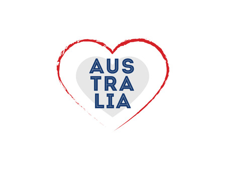 Happy Australia day vector design. Illustration