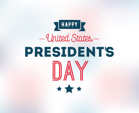 Presidents day. Vector typography, text or logo design. Usable for sale banners, greeting cards, gifts etc.