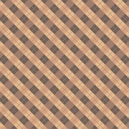 Plaid tiles pattern background, Vector illustration