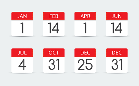 federal: Federal holiday calendar in the USA.