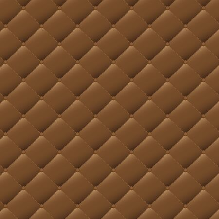 brown leather: Seamless brown leather texture pattern background, Vector illustration
