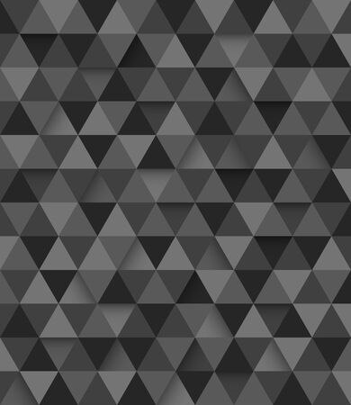 mosaic background: Abstract geometric triangle seamless pattern background, illustration
