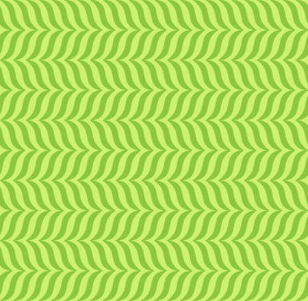 Abstract geometric seamless patterns green background, illustration with swatch Ilustrace
