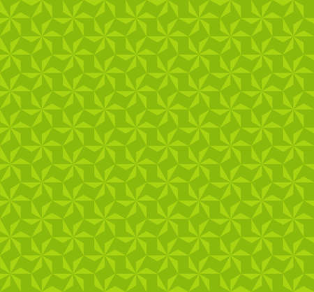 Abstract geometric hexagon star seamless patterns background with swatch
