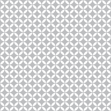 Abstract geometric circles seamless pattern background Ilustrace