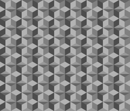 Abstract geometric seamless pattern background, Vector illustration with swatches