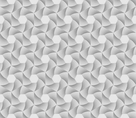 Abstract geometric tiles hexagon seamless pattern background