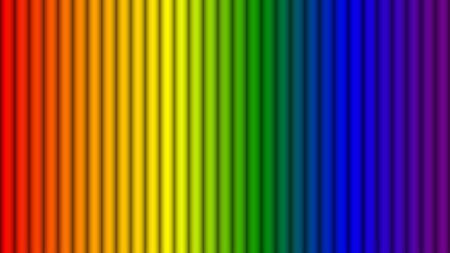 추상 무지개 색 줄무늬 배경, 벡터 일러스트 레이 션 벡터 (일러스트)