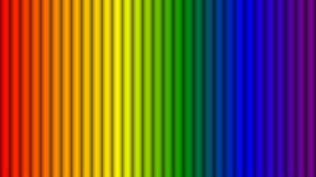 Abstract rainbow colors stripes background, Vector illustration Vetores