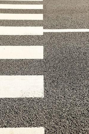 Pattern of Crosswalk in City