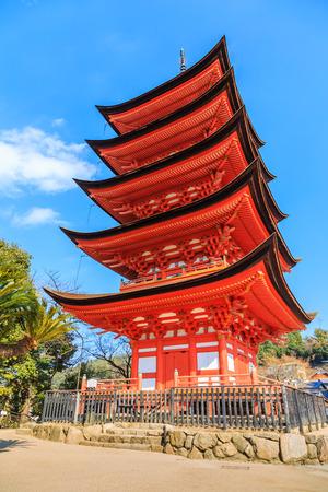 dera: Kiyomizu Dera temple, Ancient Japanese wood temple with blue sky in Kyoto, Japan