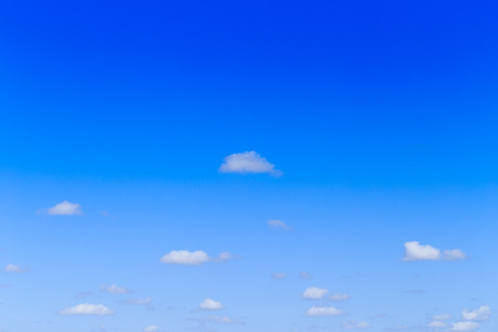 Blue sky background and white clouds in sunny day