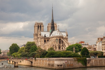 notre: Notre Dame Cathedral in Paris, France