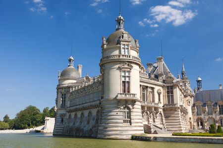 chantilly: Castle of Chantilly, France Editorial