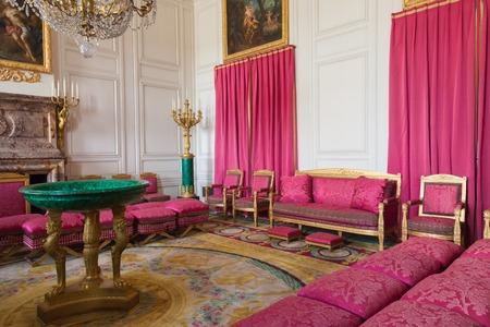 PAU, FRANCE - SEPTEMBER 02, 2012: Interior Of Pau Castle. King ...