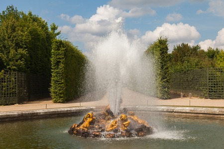 bacchus: Bacchus Fountain in gardens of Versailles palace, France