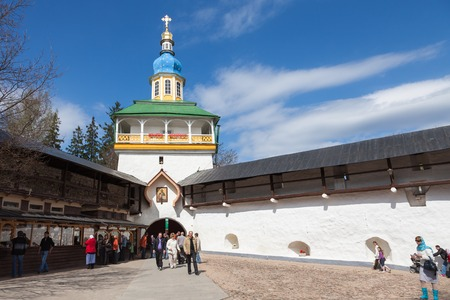 monastery: Pskovo-Pechersky monastery