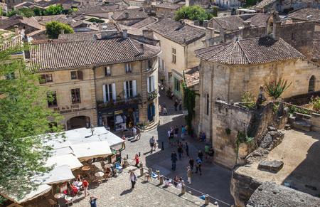 saint emilion: Town of Saint Emilion, France Editorial