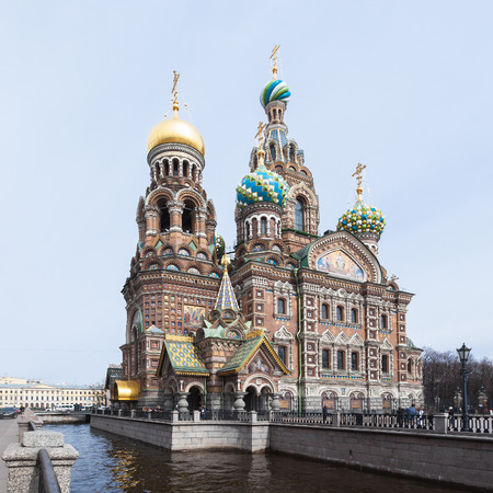 christ blood: Church of the Saviour on Spilled Blood, St. Petersburg, Russia