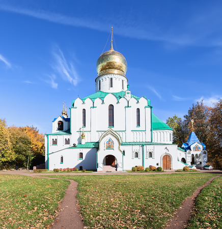 theodore: Theodore Sovereigns Cathedral in Pushkin near St. Petersburg, Russia. It was built in 1909-1912 years by order of Emperor Nicholas II