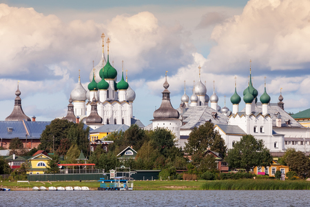 Rostov Kremlin, view from Lake Nero, Golden Ring of Russia