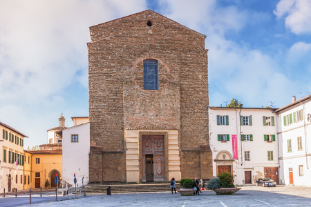 Florence, Italy – April 08, 2017: Santa Maria del Carmine, church is famous as the location of the Brancacci Chapel housing outstanding Renaissance frescoes by Masaccio and Masolino da Panicale, later finished by Filippino Lippi