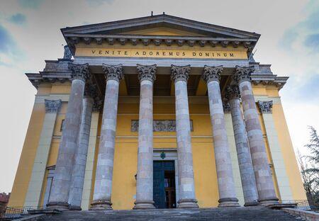 St. John basilica in Eger, Hungary Editorial