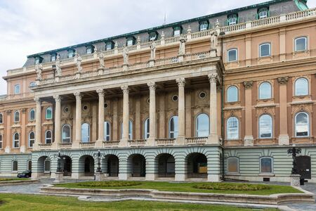 Budapest, Hungary - March 08, 2019: Hungarian National Gallery  (also known as Magyar Nemzeti Galeria) Standard-Bild - 137610290