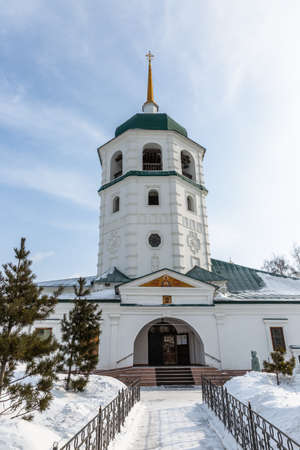 Znamensky Monastery (also the Monastery in the Name of the Sign of the Mother of God), 1689 year of Foundation. Irkutsk, Russia