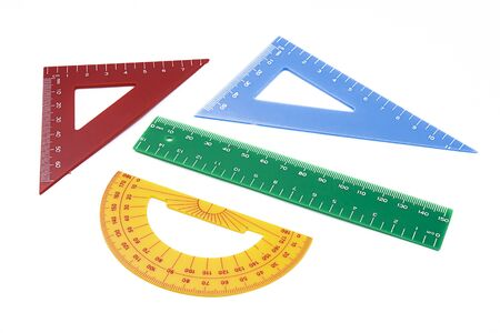width: rulers of colors