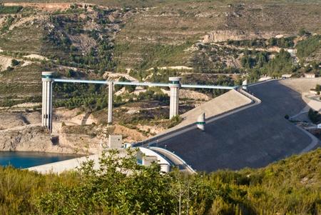 dam in Tous, Valencia, Spain Stock Photo - 12470517