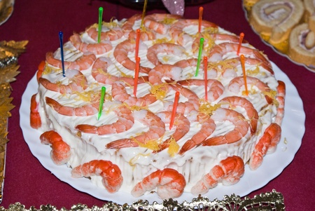 shrimp cake photo