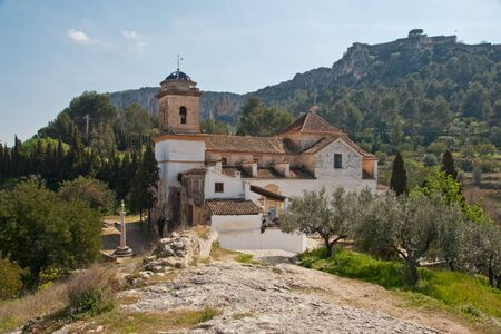 church in Xativa, Spain photo